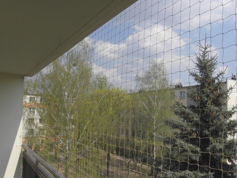 siatki zabezpieczające na balkon